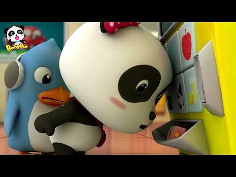 Bayi Panda Ajaib | Mesin Penjual Otomatis | Kartun Anak | Bahasa Indonesia | BabyBus