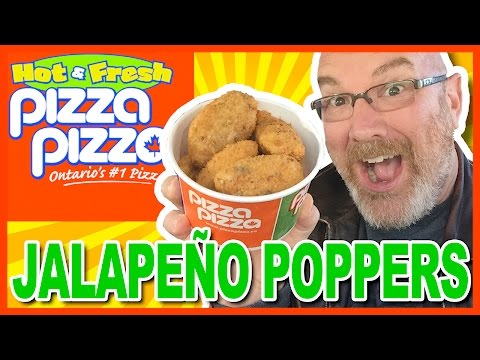 Jalapeño Poppers from Pizza Pizza Review