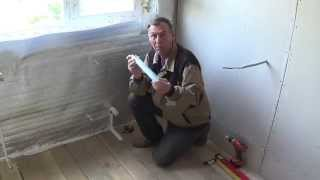 Как сделать стену из ГКЛ.  Оконный проём ЧАСТЬ 1(, 2014-09-28T05:08:09.000Z)