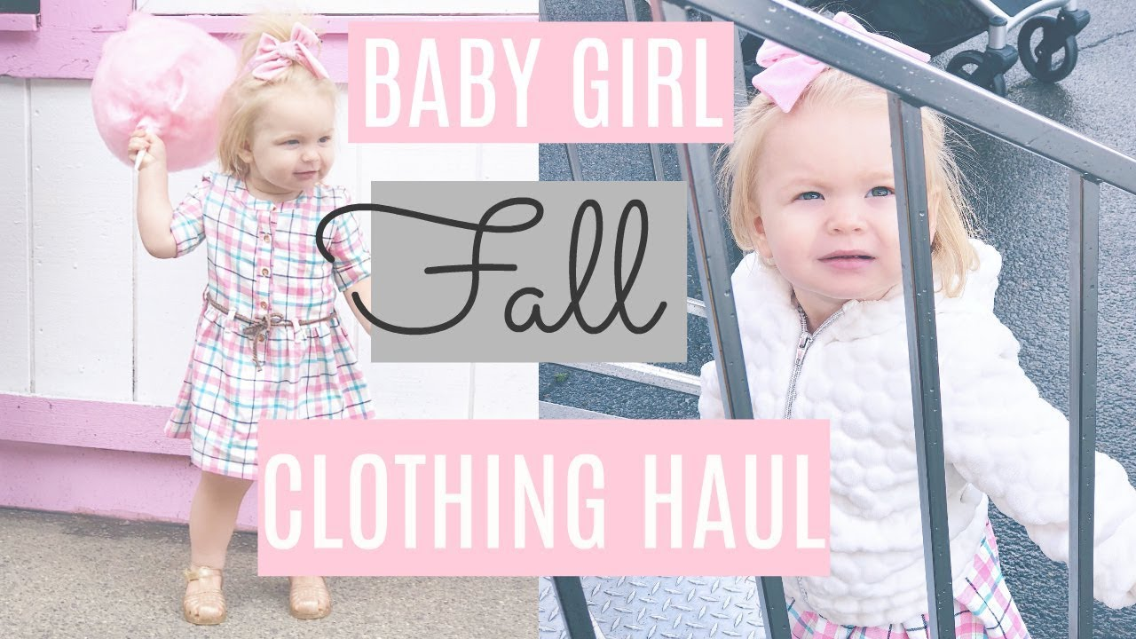 7d0af36b596f BABY GIRL FALL CLOTHING HAUL! Carters, Old Navy & More! Toddler clothing  finds