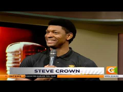 LEVEL UP FRIDAY | Gospel singer Steve Crown  #DayBreak