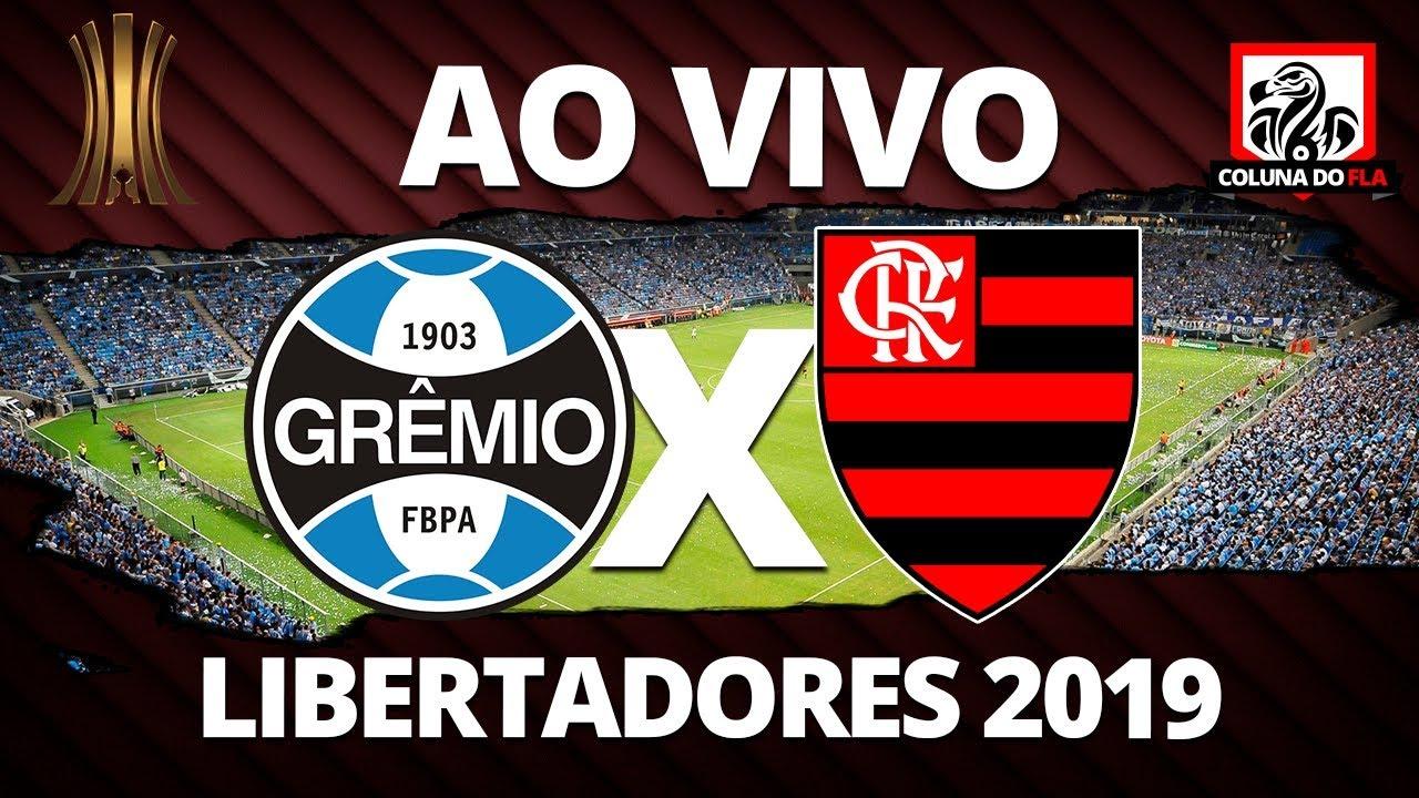 Grêmio X Flamengo Ao Vivo Semifinal Libertadores 2019 Narração Rubro Negra