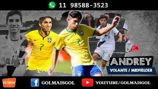 Andrey Ramos do Nascimento - Volante - www.golmaisgol.com.br - BERTOLUCCI SPORTS