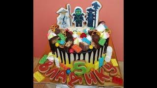 Торт Лего Как Украсить Торт Детский Торт