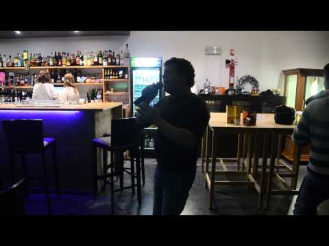 Karaoké DJ Ben @ Café L&B Dudelange Manuel chante