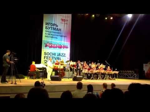 Igor Butman Moscow Jazz Orchestra Sochi Jazz Festival 2013