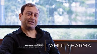 Meet Rahul Sharma - President, Worldwide Public Sector at Amazon Internet Services Private Limited