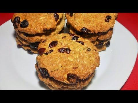 Galletas de avena crocantes (rapidas y faciles)