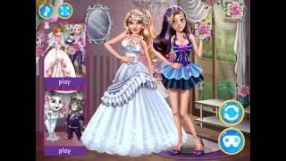 Wedding Dressup (Принцессы Диснея: одевалки свадьба)
