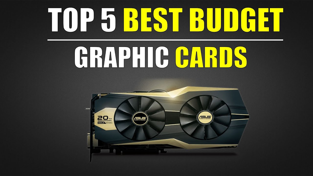 Top 5 Best Budget Graphic Cards, India (June 2016) - YouTube