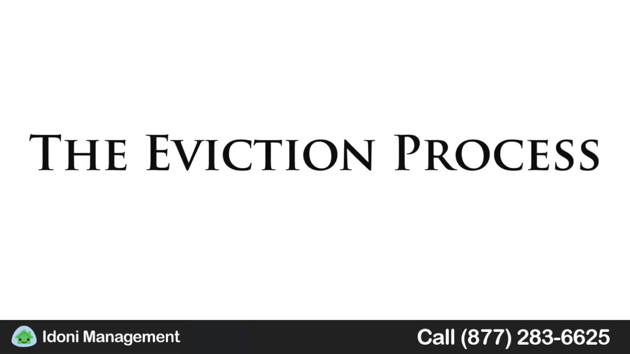 HOW LONG DOES THE CONNECTICUT EVICTION PROCESS TAKE? - Idoni
