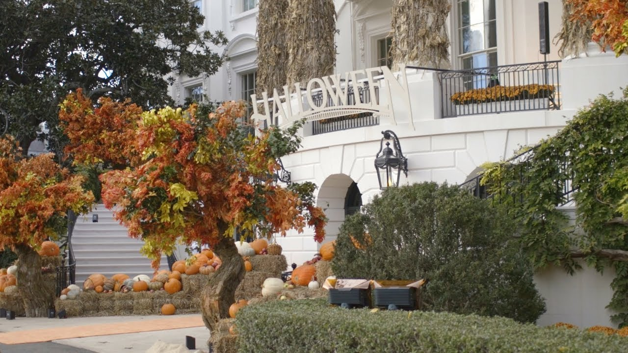 White House 2020 Halloween Halloween at the White House 2018   YouTube