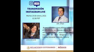 Conversaciones en Cuarentena | 19 de enero, 2021