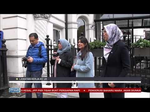 Lawatan Pertama PMKe London