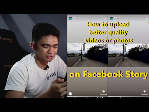 Facebook Story - How To Upload Better Or Higher Quality Videos - Shot On Sony A7iii