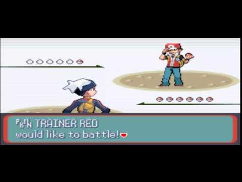 Pokemon Music Hack - Trainer battle Red