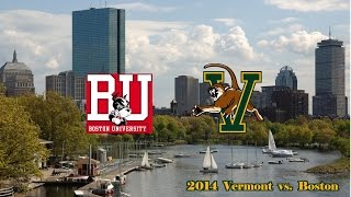 2014 VERMONT vs BOSTON UNIVERSITY Lacrosse