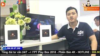FPT Play Box 2018 : TV Box hàng đầu Việt Nam - Trực tiếp Ngoại Hạng Anh