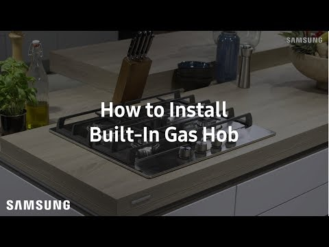 Samsung Built-In Gas Hob : Installation Guide