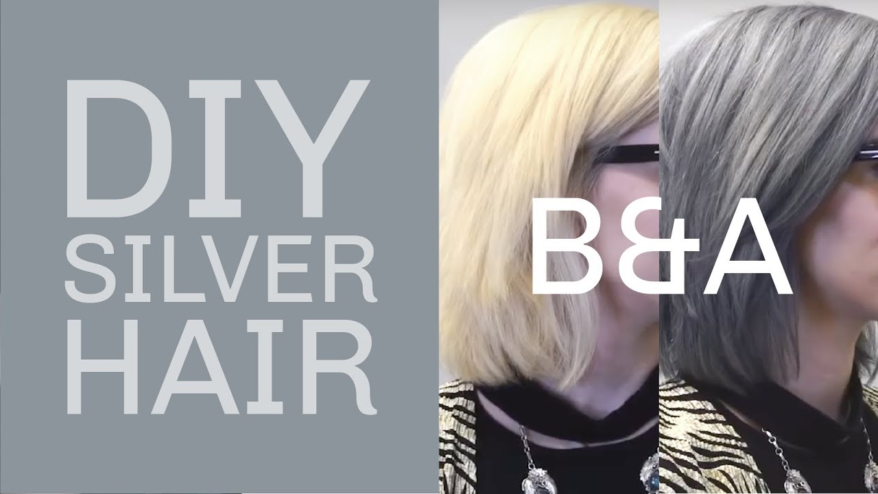 How To Get The Perfect Silver Hair Without Green Tones Youtube
