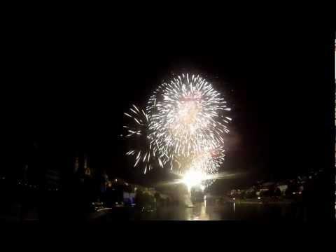 1 August 2012 - Feuerwerk Basel (23min)