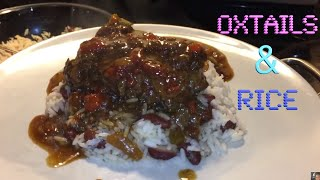 Oxtails and rice