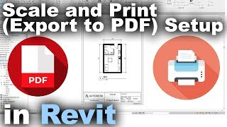 Scale and Print (Export to PDF) Setup in Revit Tutorial