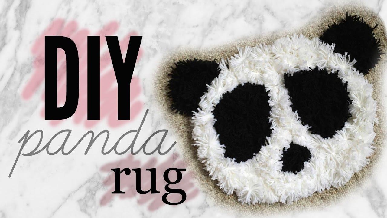 Marvelous UPCYCLE OLD T SHIRT | DIY PANDA RUG