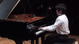 Yike (Tony) Yang – Chopin Piano Competition 2015 (preliminary round)