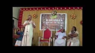 Ghatam Karthick felicitation by Prince Rama Varma