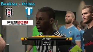 Besiktas - Malmo Avrupa Ligi Mac Ozeti Europa League Match Highlights