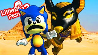 Sonic Exploring Inside The Pyramids - LittleBigPlanet 3 | EpicLBPTime