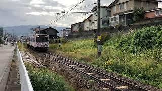 七尾駅出てすぐの小丸山付近で撮影 自分のバイクのエンジン音が入っています。 181107撮影.