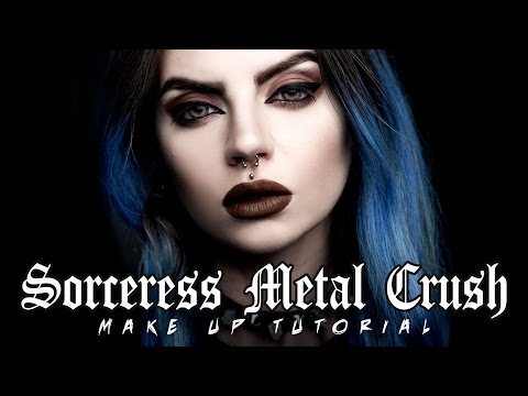 SORCERESS METAL CRUSH Make Up Tutorial | Beatriz Mariano