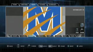 Backbreaker: Logo and Team Creation on PS3