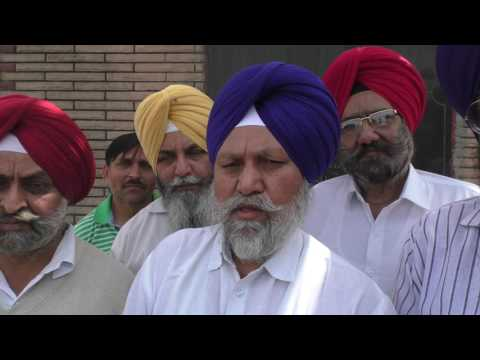 JHANJAR TV NEWS FROM PUNJAB LUDHIANA POLITICAL LEADERS CELEBRATE THE VICTORY OF MARTYRS  IN LUDHIANA