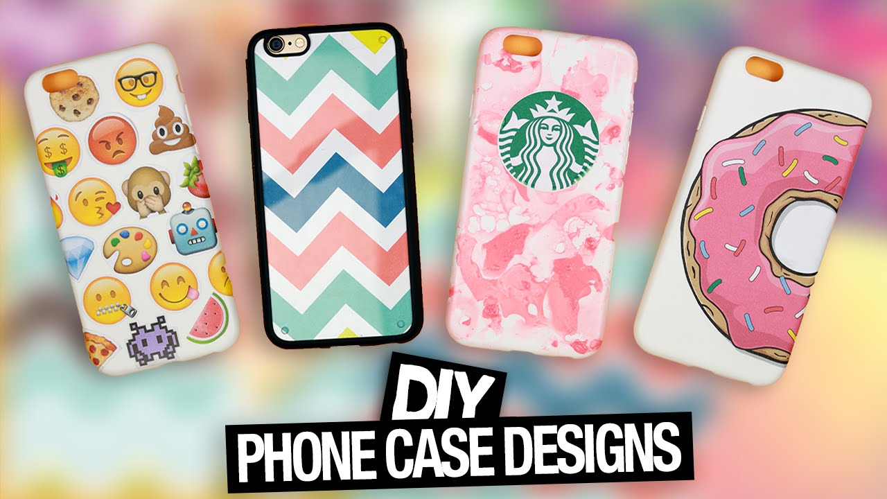 Diy Phone Case Designs Tumblr Starbucks Emoji More Youtube