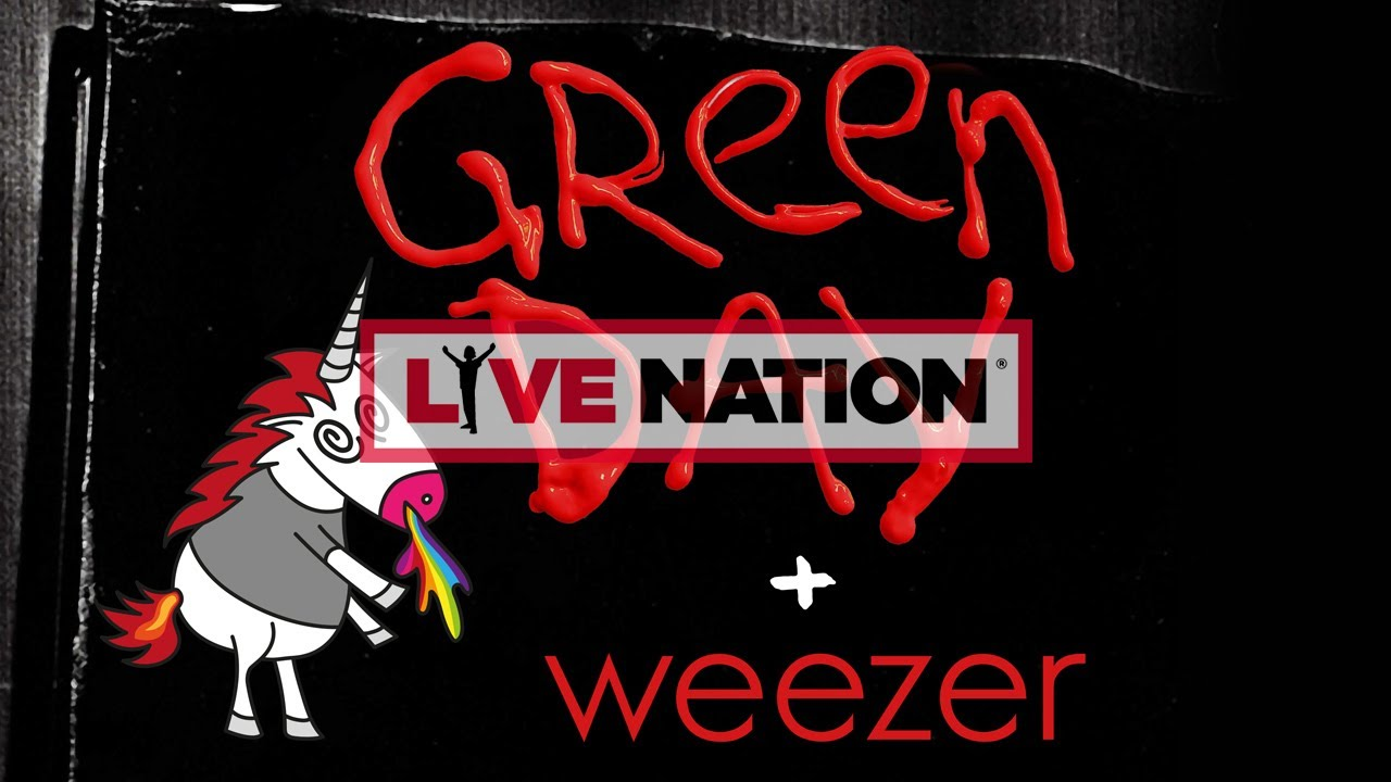 Green Day Tour 2020.Green Day Tour 2020 Live Nation Gsa