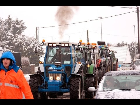 North galway tractor run 2015 HD