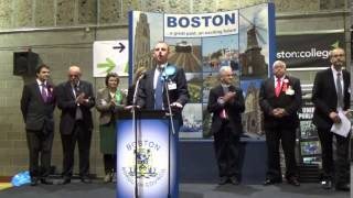 Boston & Skegness - General Election Declaration