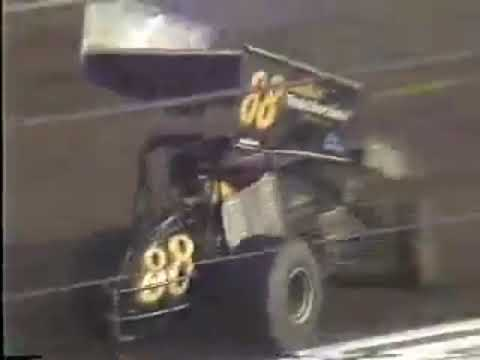 Mike Sargent #88 - San Jose Speedway (1989) - Qualifying