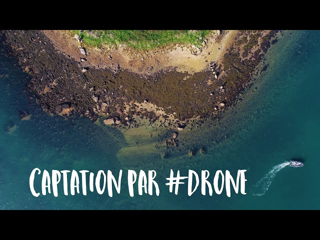 Pixel de Mer dans les airs : captation vidéo drone 4K