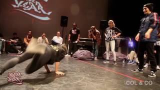 Battle of the Year 2016 Pacific Qualifier - Bgirl 2vs2 Semi Finals - 89 Lives VS Soul Power