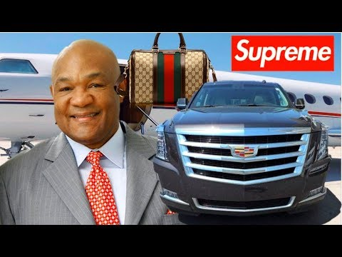 8 EXPENSIVE THINGS OWNED BY GEORGE FOREMAN