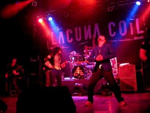 Lacuna Coil - Tight Rope - LIVE at Toronto Opera House May 25, 2010