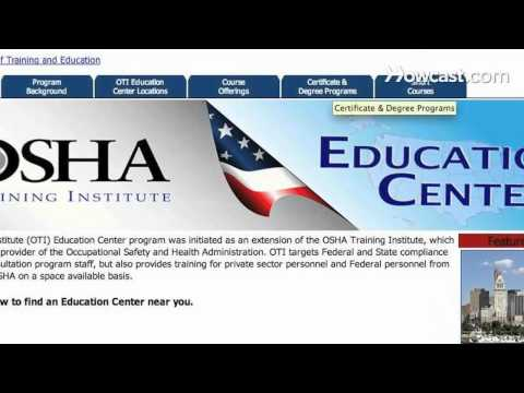How to Get OSHA Certification