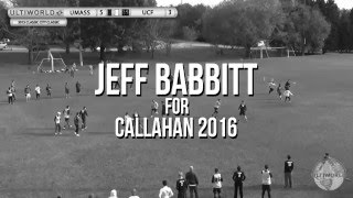Jeff Babbitt for Callahan 2016
