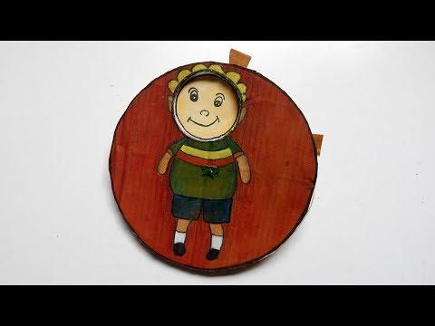 Emoji DIY Paper Magic Card || Face Changer Tutorial For Kids !!!