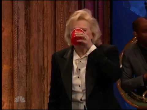 Beer Pong with Candice Bergen and Jimmy Fallon 2017