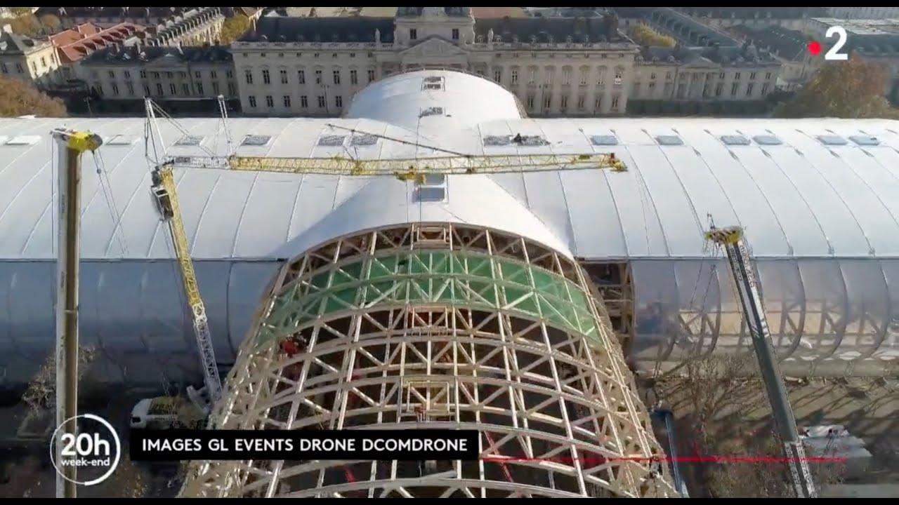 Download Reportage sur la construction du Grand Palais Ephémère diffusé dans le 20H de France 2 le 12/03/2021